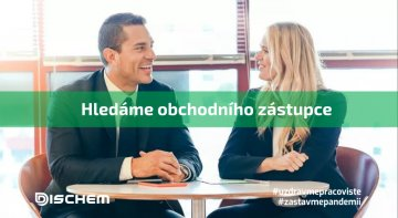 Obchodní zástupce pro Čechy a Moravu