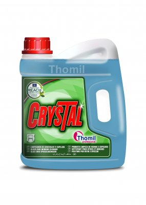 Thomil Crystal 4 l (Čisticí prostředek na sklo a zrcadla)