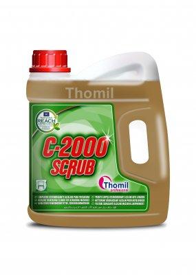 C-2000 Scrub 4l (Alkalický odmašťovací prostředek do mycích strojů)