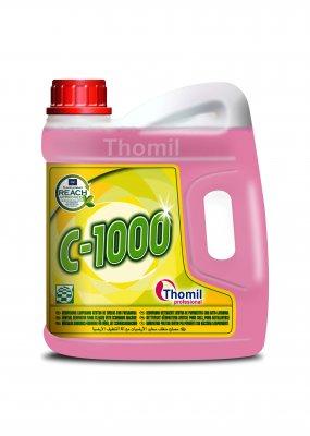 Thomil C-1000 4 l (Renovující čisticí prostředek na podlahy s neutrálním pH do mycích automatů)