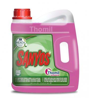 Sanyos 4 l (Univerzální čisticí prostředek do koupelen na odstranění vodního kamene)