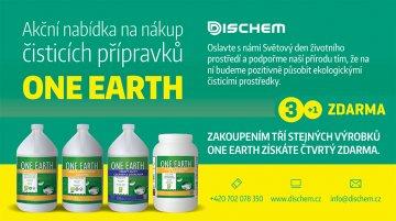 Akční nabídka na nákup čistících přípravků ONE EARTH (3+1 zdarma)