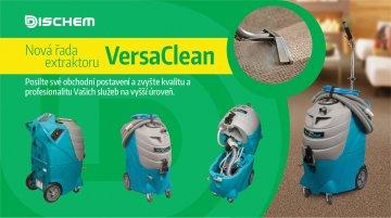Nová řada extraktorů VersaClean