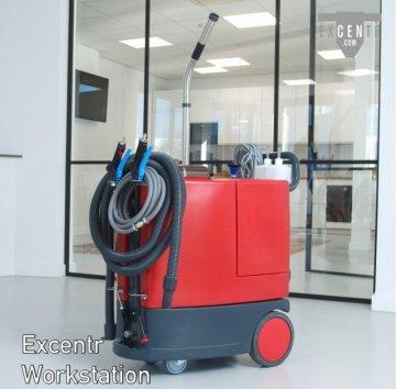 EXCENTR Workstation (Čištění, napěnění, dezinfekce a opláchnutí)