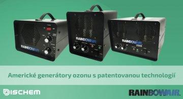 Generátory ozonu Rainbowair přináší více než 30 let zkušeností v oboru