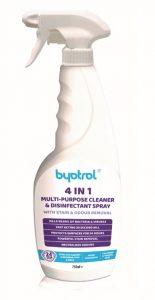 Byotrol 4 v 1 750 ml (Víceúčelový čisticí a dezinfekční prostředek v rozprašovači)