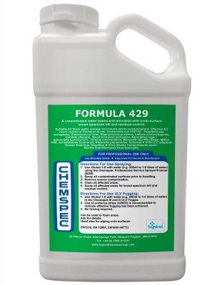 Chemspec Formula 429 5 l (Antimikrobiální dezinfekční prostředek na bázi nanopolymerů)