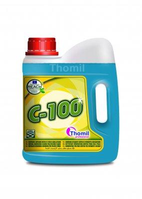 Thomil C-100 2 l (Renovující prostředek na leštěné podlahy s neutrálním pH)
