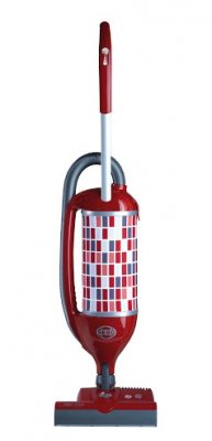 SEBO Felix 1 Premium ROSSO (Tyčový vysavač pro domácnosti s klepací hlavou vhodný pro alergiky)