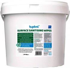 Byotrol Surface sanitising wipes (Dezinfekční utěrky pro sanitaci povrchů - 1500 ks)