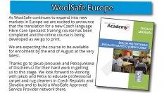 Stáváme se členy organizace WoolSafe