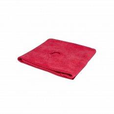 Hadr na podlahy z mikrovlákna s otvorem pro rukojeť (červená)