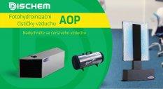 Fotohydroionizační AOP čističky vzduchu