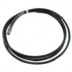 PMF Černá tlaková PVC hadice, 3 vrstvá vyztužená vysokopevnostním PES vláknem (metráž)