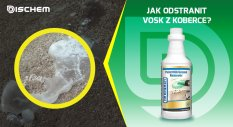 Jak odstranit vosk z koberce