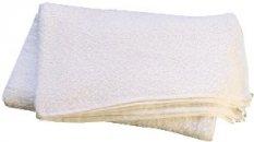 Bílý bavlněný ručník na skvrny (60 x 60 cm)