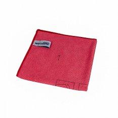 Wecoline utěrka z mikrovlákna s instrukcemi použití (červená)