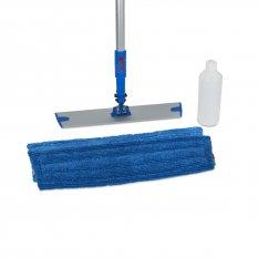 Wecoline Spray mop z mikrovlákna na podlahy s plnitelnou násadou (sada)
