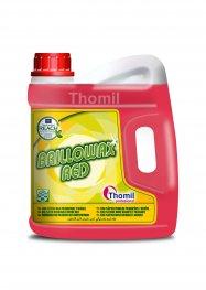 Thomil Brillowax Red 4 l (Samolešticí červená disperze na bázi vysoce kvalitních vosků a polymerů)